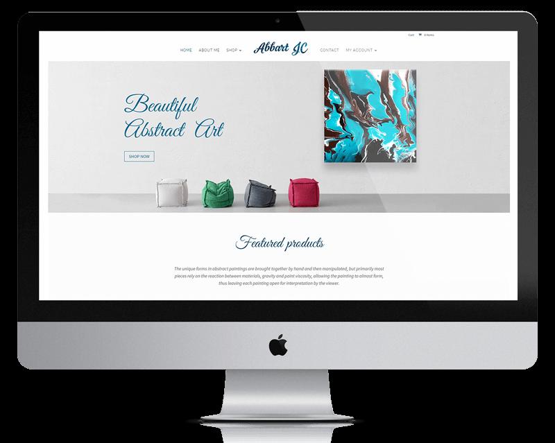 website design for resort style home