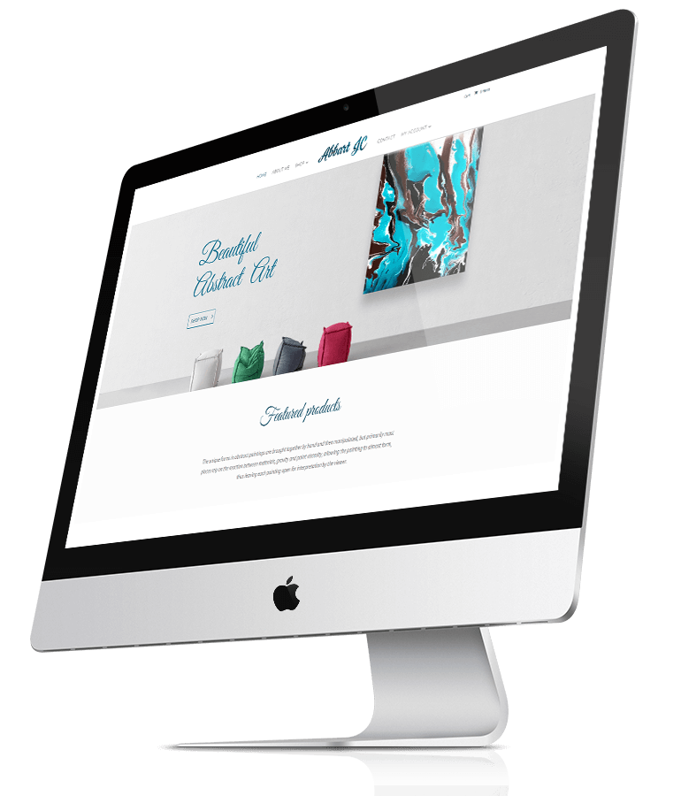 Abbart JC web design